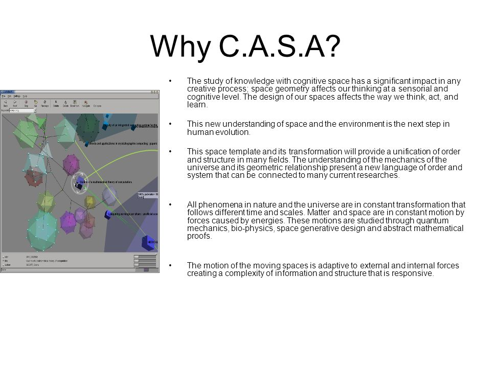 Why C.A.S.A
