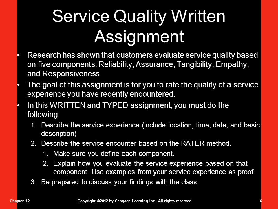 essays service quality Custom essays online are created with a glance to every we offer custom essay service the citations contained in your essays will be of good quality.