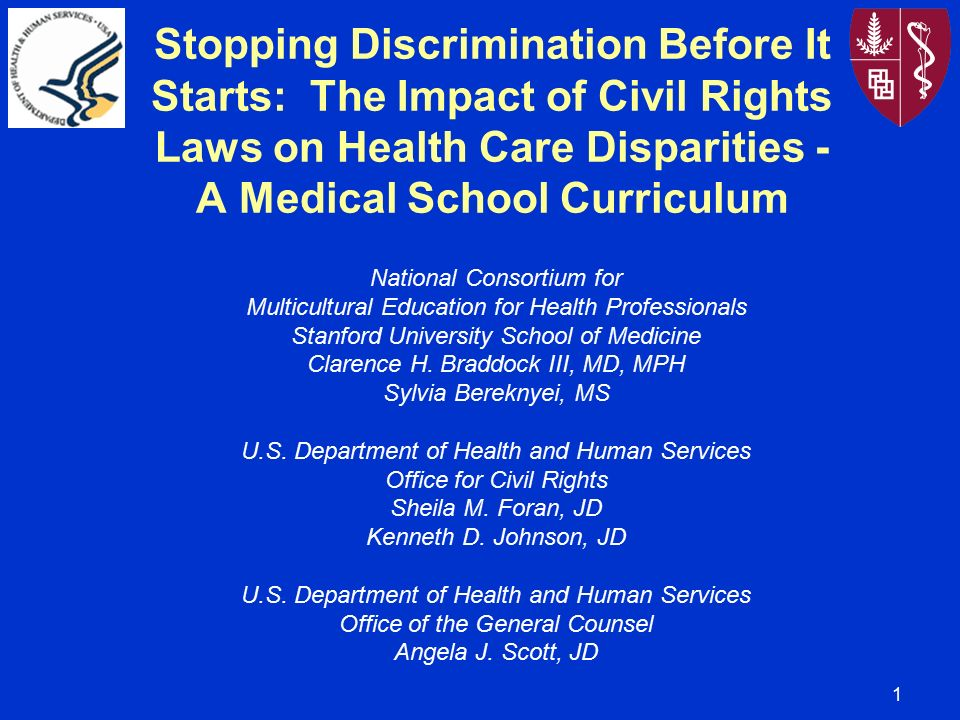 discrimination in health care For decades, insurance companies discriminated against women they charged  women more or denied coverage altogether they didn't cover women's health.