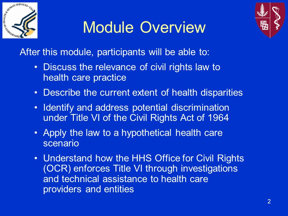 Description of potential effects of discrimination
