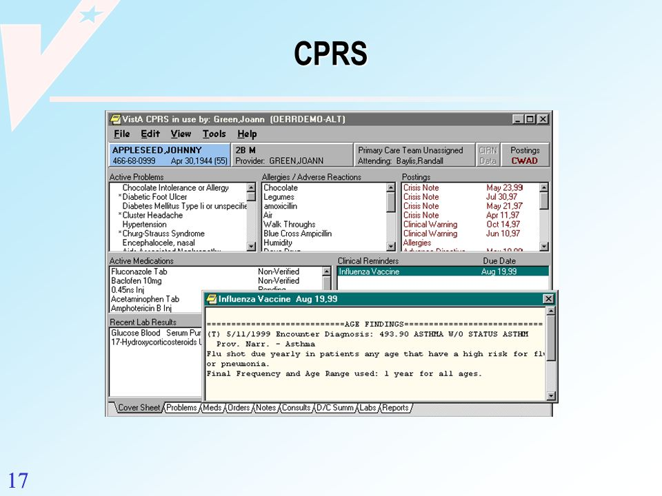 CPRS 17