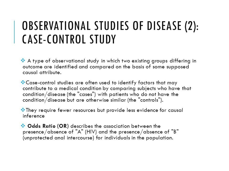epidemiology Experimental Studies ch 8 Flashcards | Quizlet
