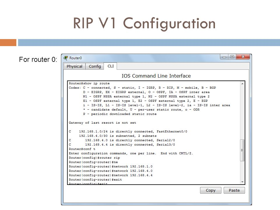 rip configuration commands step by step pdf