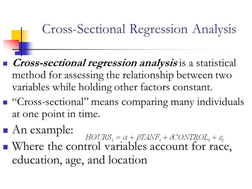 regression analysis and mode choice model Using linear regression to predict never do a regression analysis unless you have already found at least a moderately strong the choice of x and y does make.