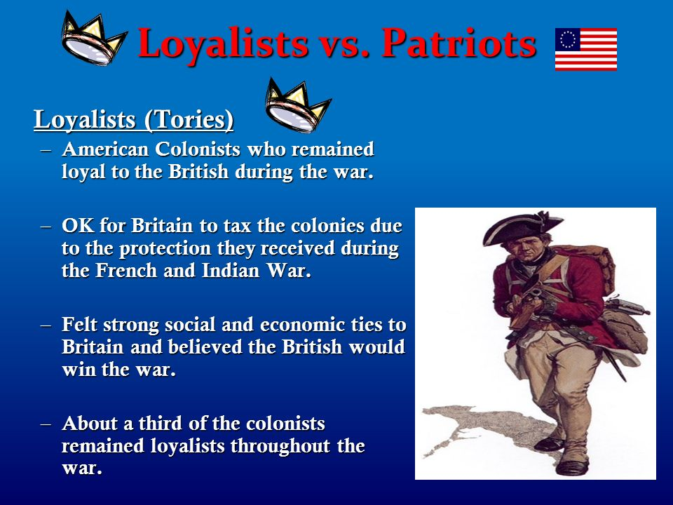 essays loyalists during american revolution British loyalists in the american revolution a complete study of the british loyalists during the is a collection of essays from various persons who were.