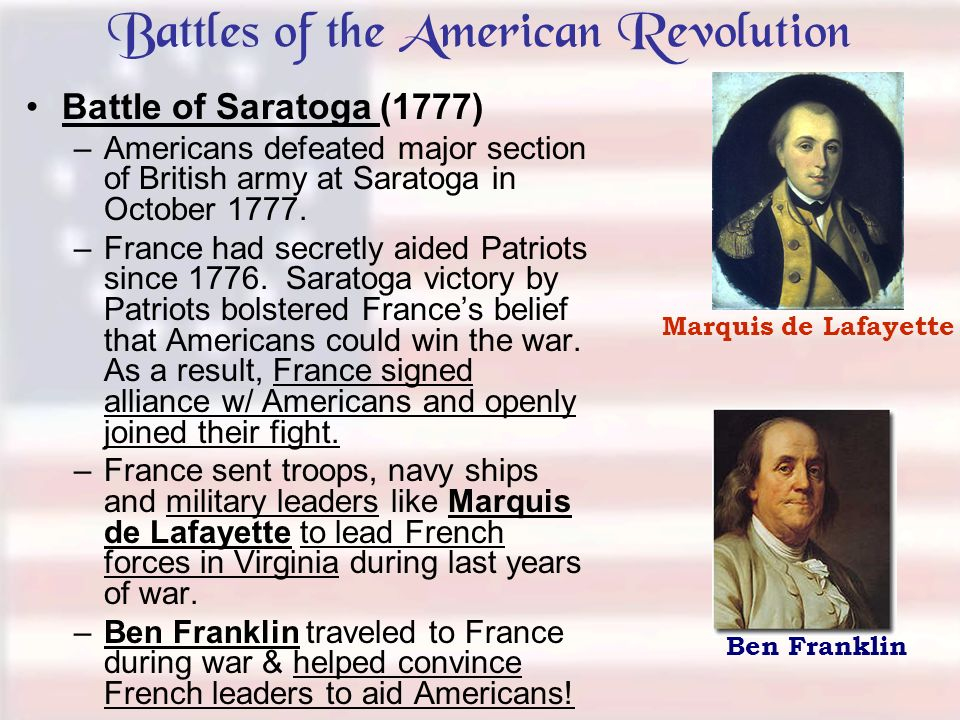 major battles during the american revolution During the revolutionary war years can never be determined the era in new  jersey begins  they are significant to the course of the war and are included in.