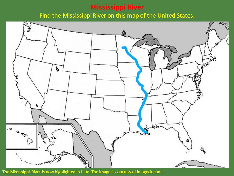 Test Your Geography Knowledge South America Rivers And Lakes Test - Mississippi in usa map