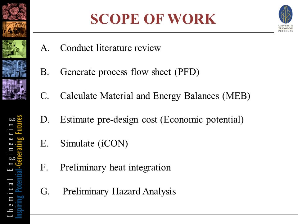 scope of literature review pdf