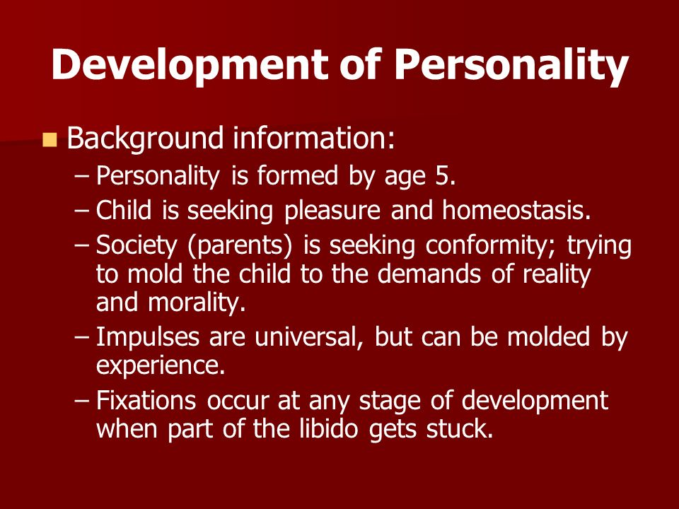 personality and age on conformity Conformity (psychology) researchers have also reported an interaction of gender and age on conformity journal of personality and social psychology 71 (5).