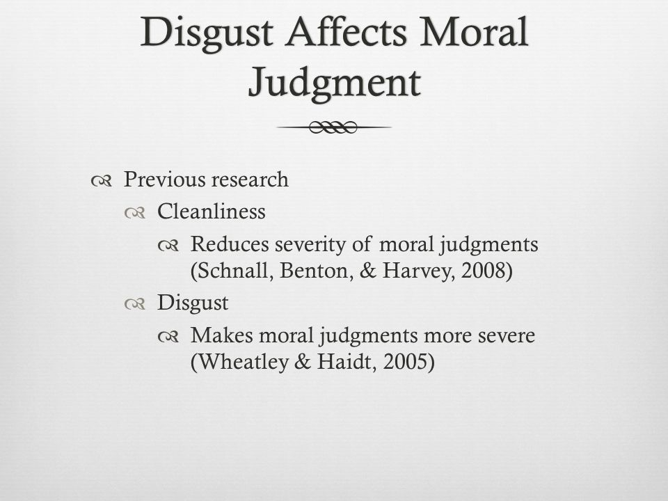 emotion and disgust as a moral emotion psychology essay Essay what are emotions  disgust, surprise or anger at  there are more than a half of thousand different words in english that can describe every emotion and.
