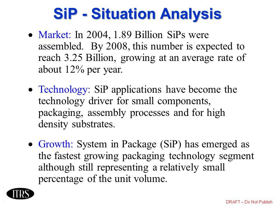 SiP - Situation Analysis