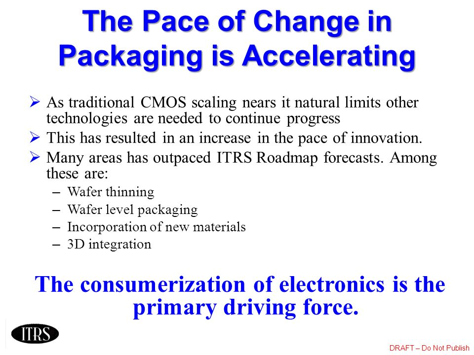 The Pace of Change in Packaging is Accelerating