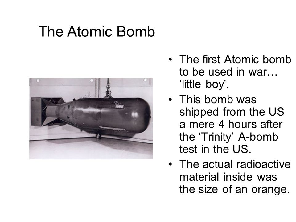 an analysis of the use of the atomic bomb on japan Originally intended as a deterrent to the german threat, the atomic bomb became  an offensive weapon to be used to coerce japan to surrender.