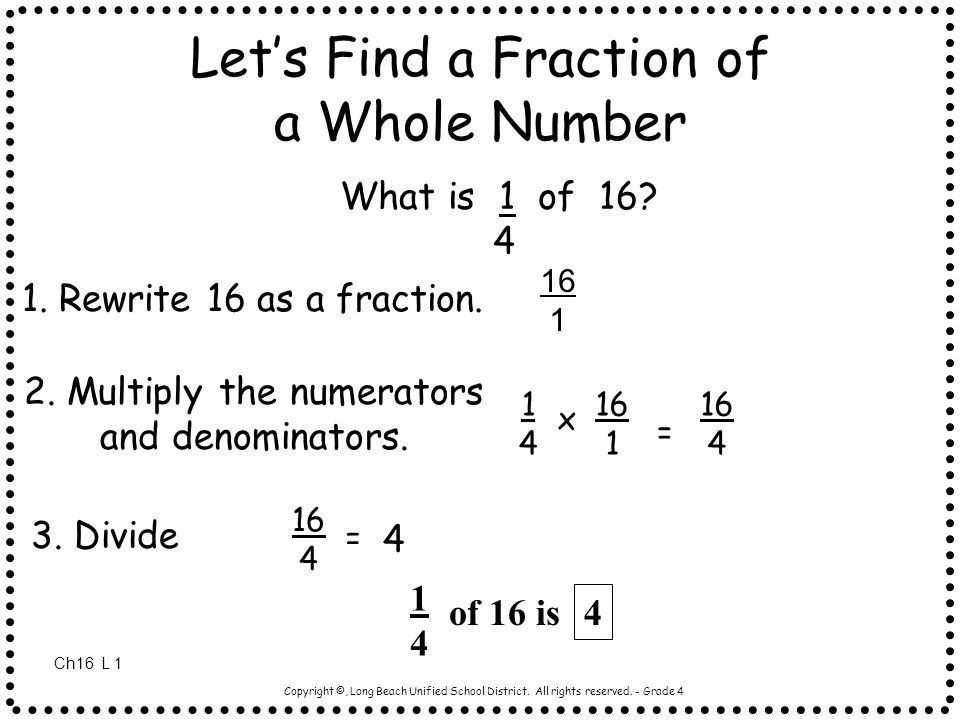 rewrite as a ratio of whole numbers