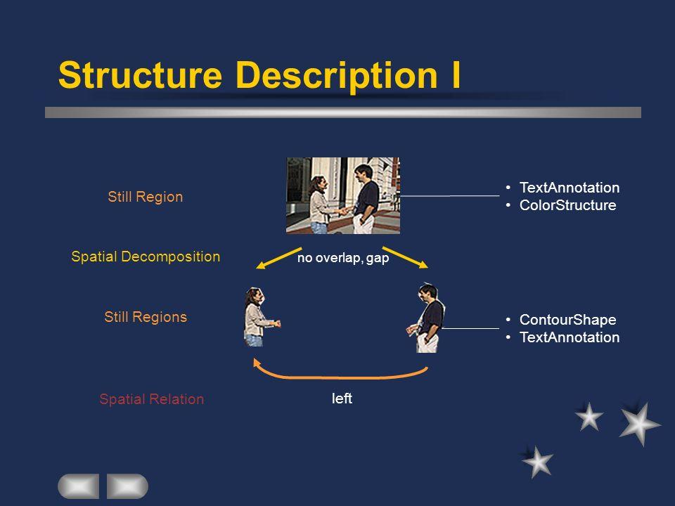 Structure Description I