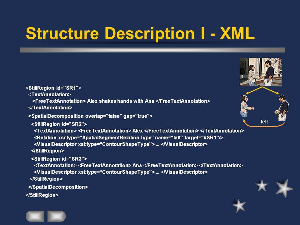 Structure Description I - XML