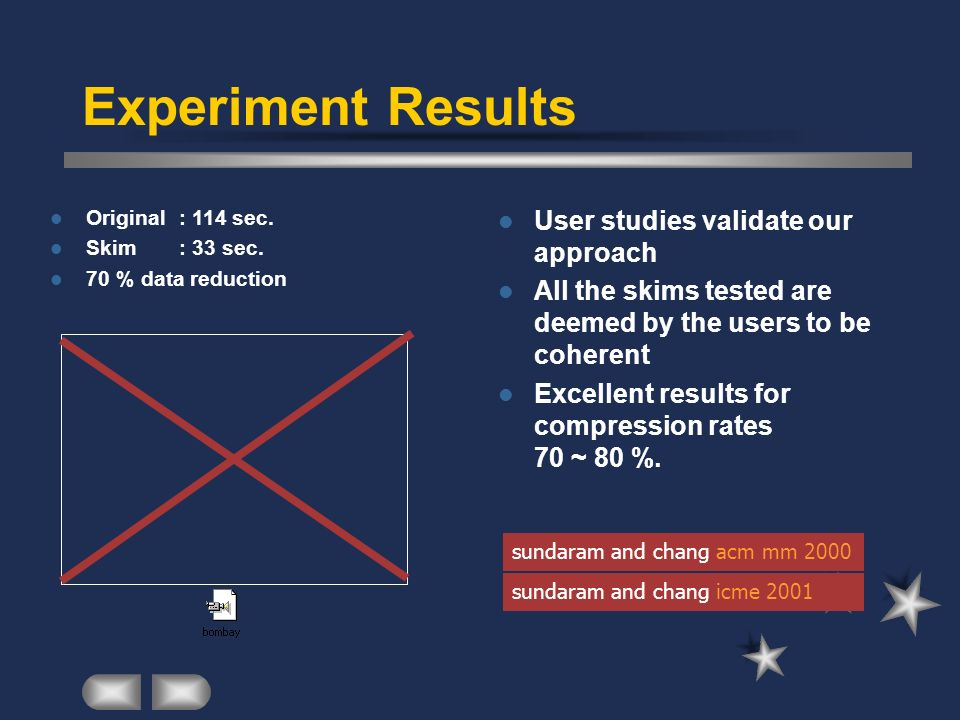 Experiment Results User studies validate our approach