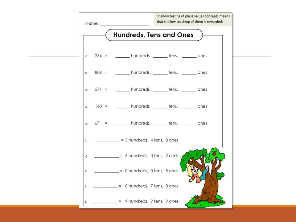 Number and Operations in Base Ten ppt video online download – Place Value Worksheets for 5th Grade
