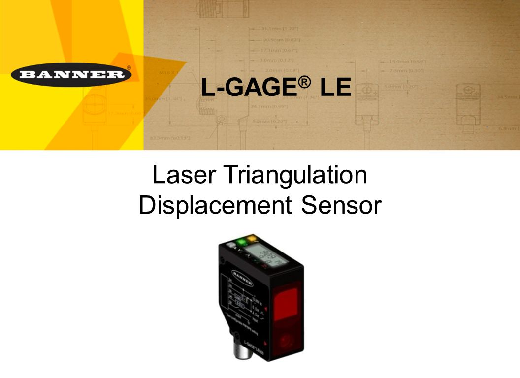 Laser Triangulation Displacement Sensor Ppt Video Online