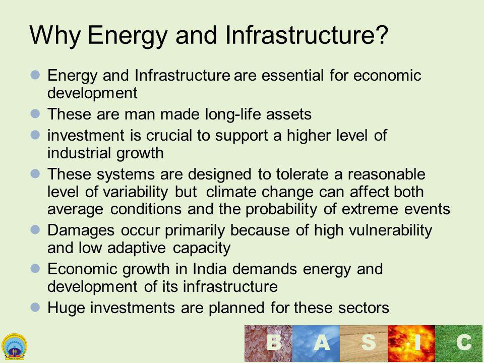Why Energy and Infrastructure