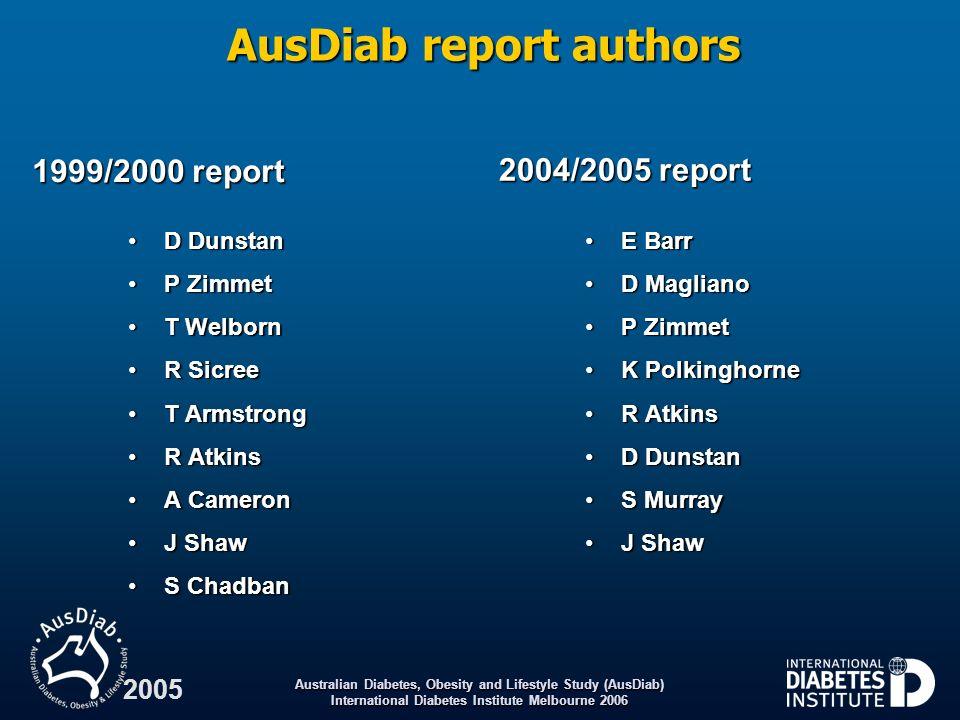 AusDiab report authors