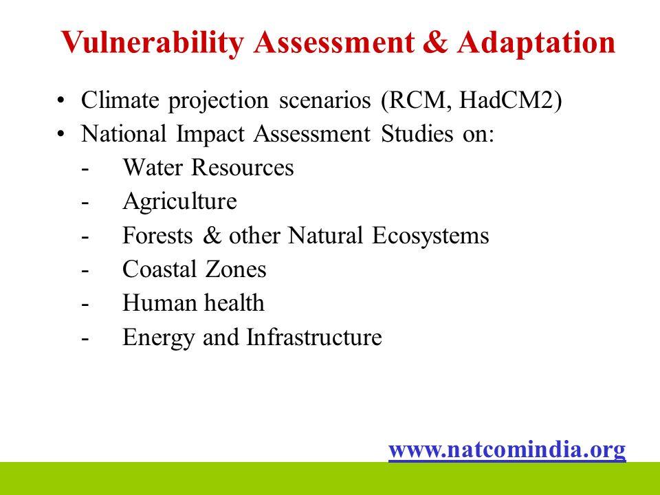 Vulnerability Assessment & Adaptation