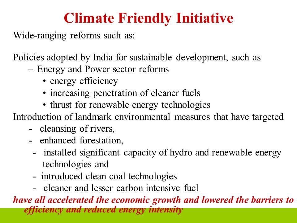 Climate Friendly Initiative