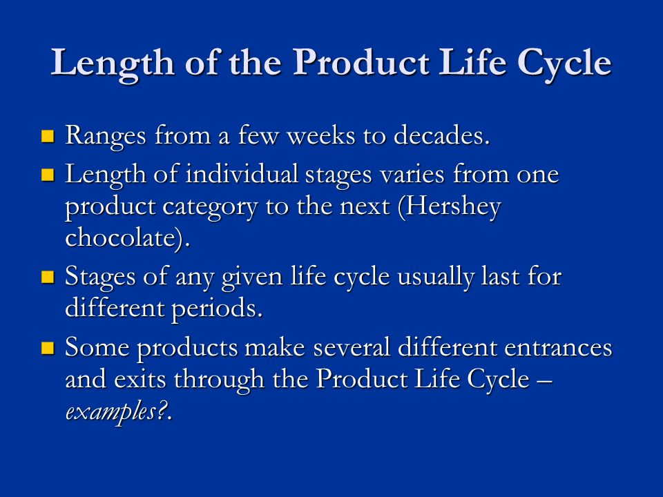 The Product Lifecycle And New Product Development Ppt Video Online Download