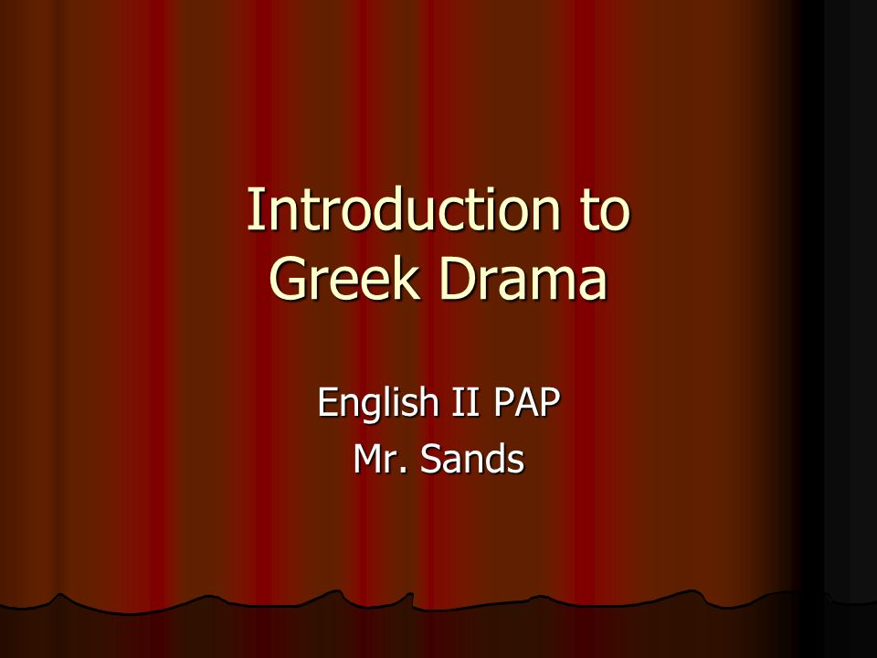 an essay on drama Definition, usage and a list of drama examples in literature drama is a mode of fictional representation through dialogue and performance.