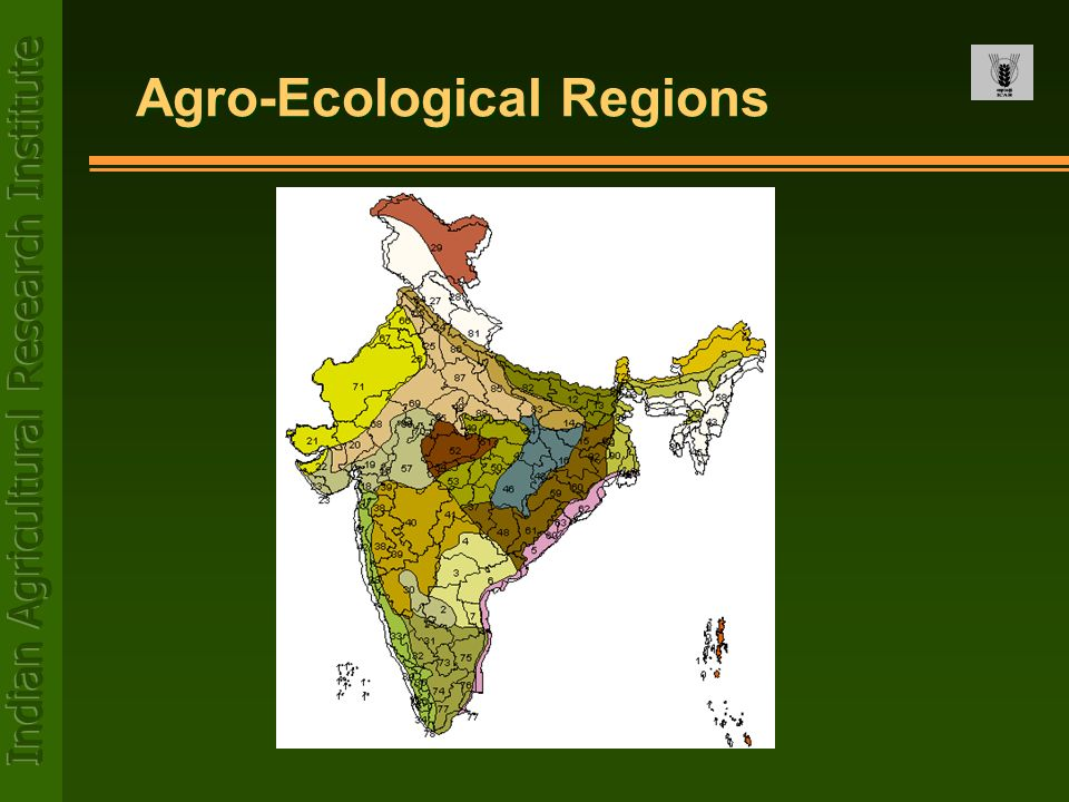 Agro-Ecological Regions