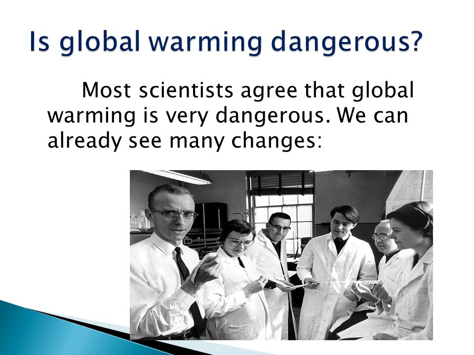 Is global warming dangerous