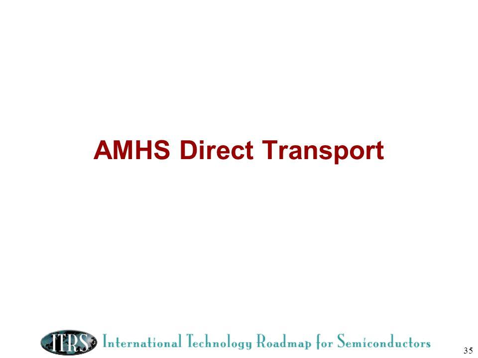 AMHS Direct Transport
