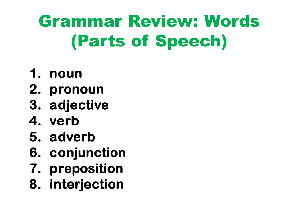 Words Phrases Clauses Sentences - ppt download