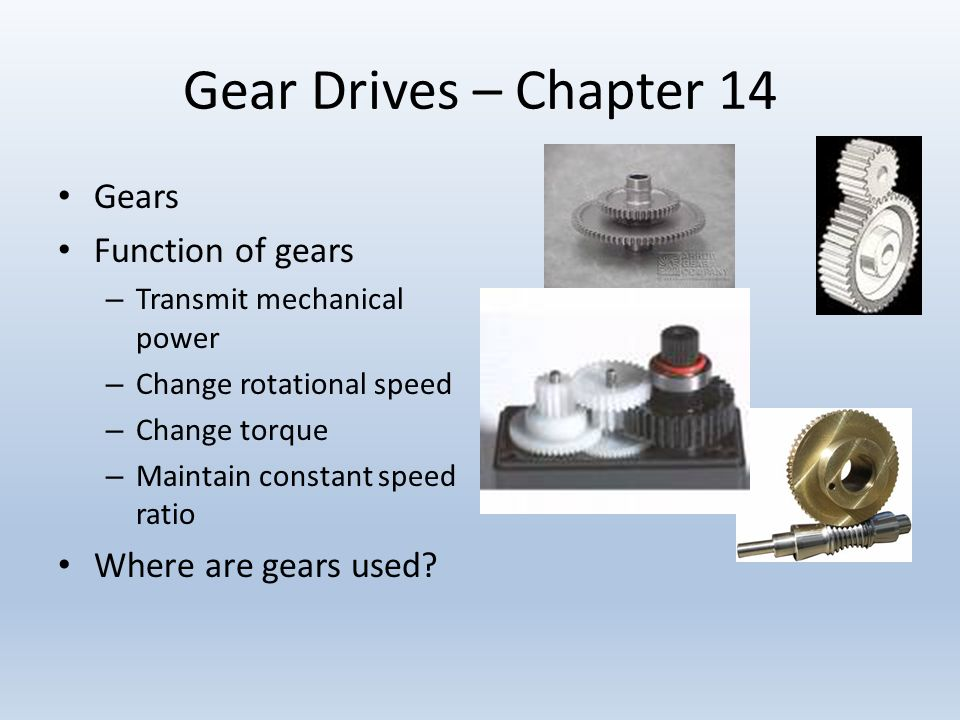 an analysis on the function of gears Call wm berg for gears that work spur gears designed for precision anti-backlash gears, cluster gears, helical gears, worm gears, bevel gears & more.