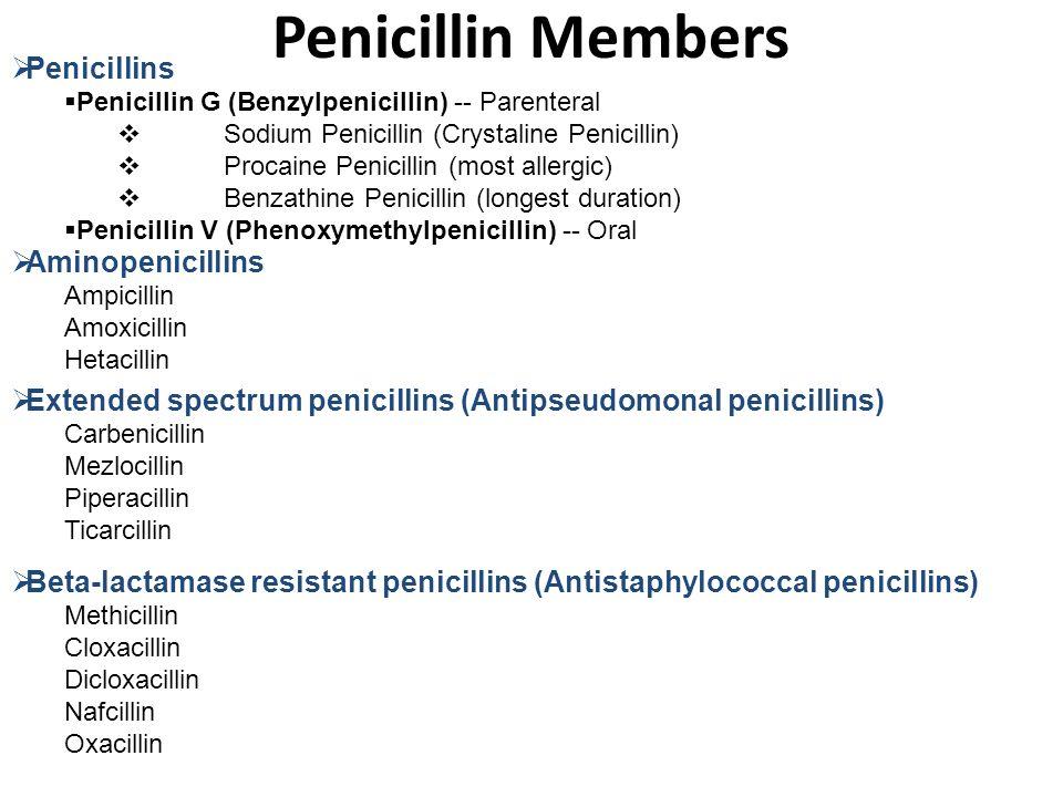 Ampicillin Vs Penicillin For Gbs