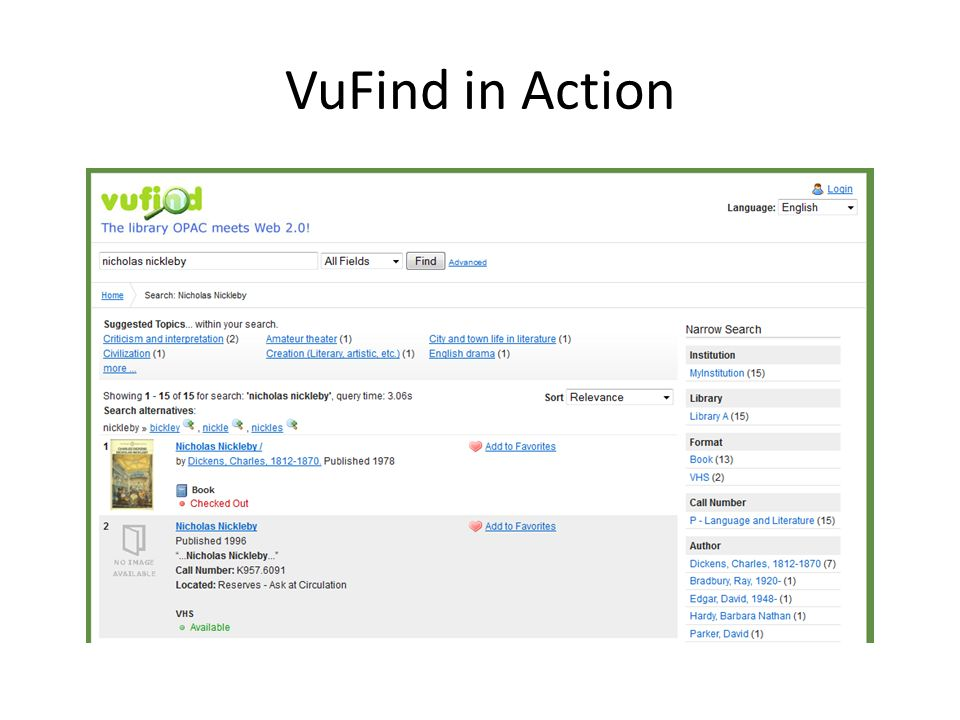 VuFind in Action