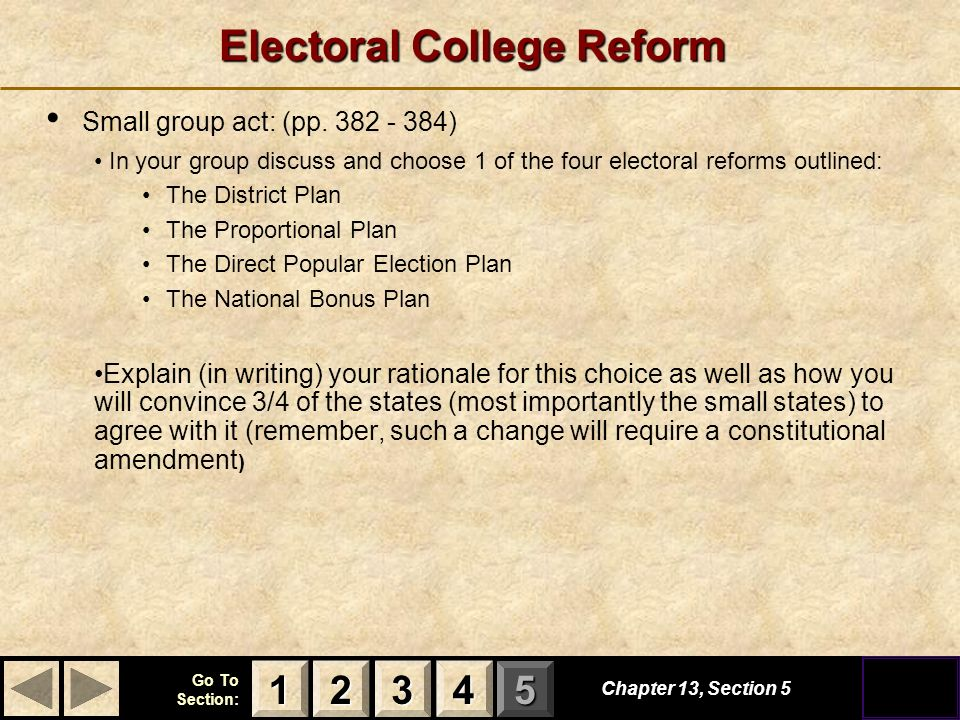 the role and importance of the electoral college The official us electoral college web site, providing current information about the presidential election, information about the roles and responsibilities of state officials and electors, instructions for state officials and electors, the timeline of key dates for the presidential election, information about laws and legal requirements related to the presidential election and the electors.