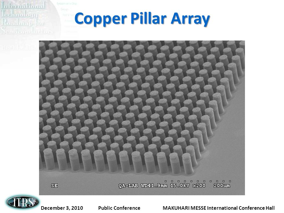 Copper Pillar Array