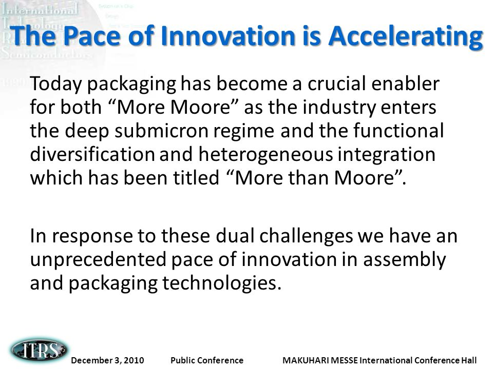 The Pace of Innovation is Accelerating