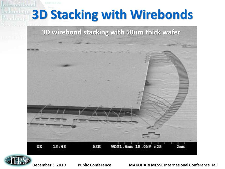 3D Stacking with Wirebonds