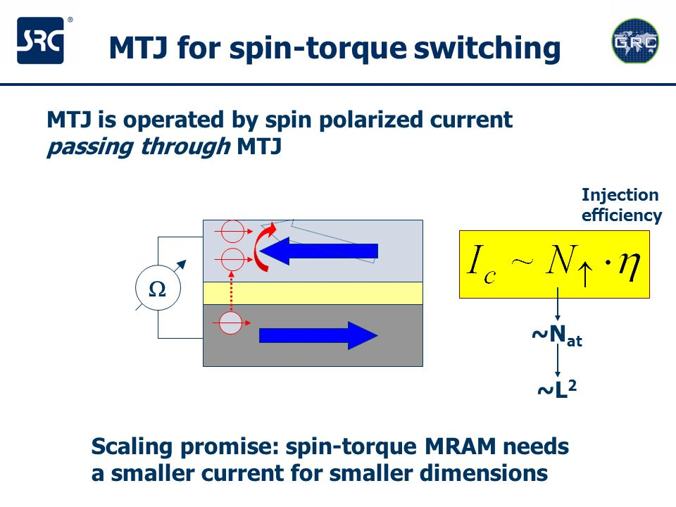 MTJ for spin-torque switching