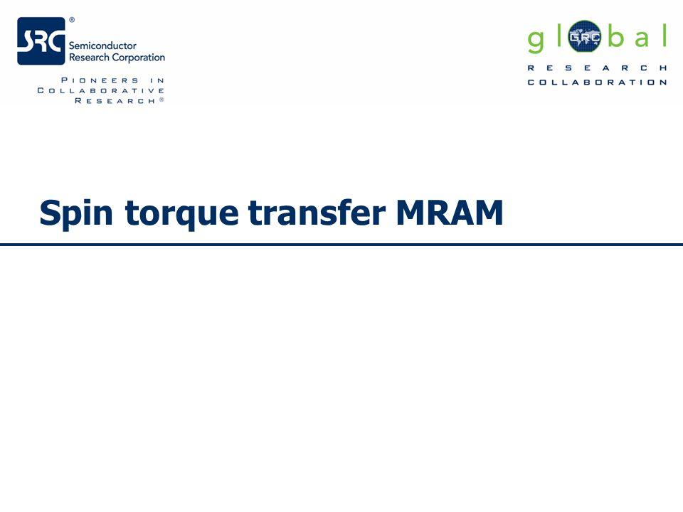 Spin torque transfer MRAM