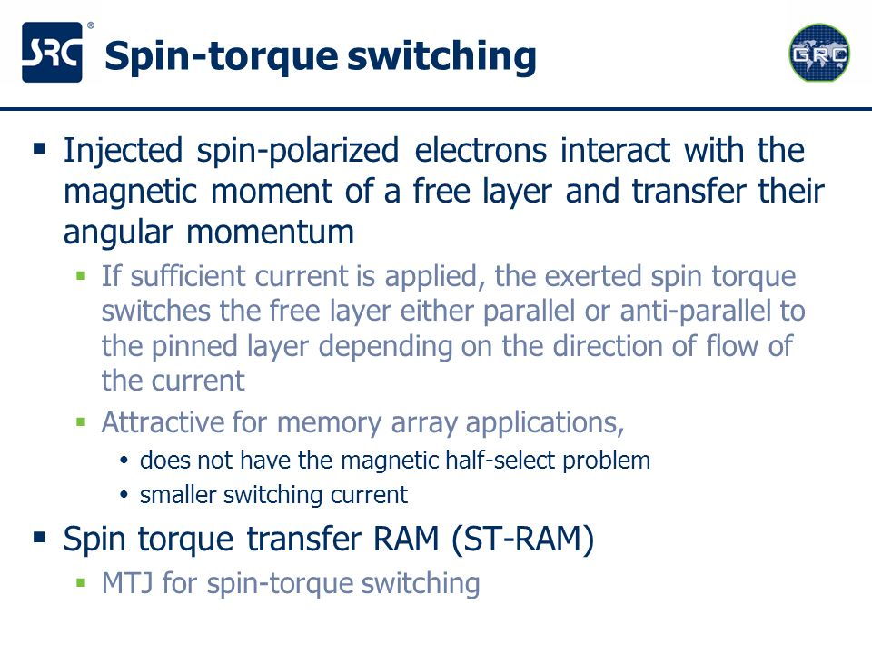 Spin-torque switching