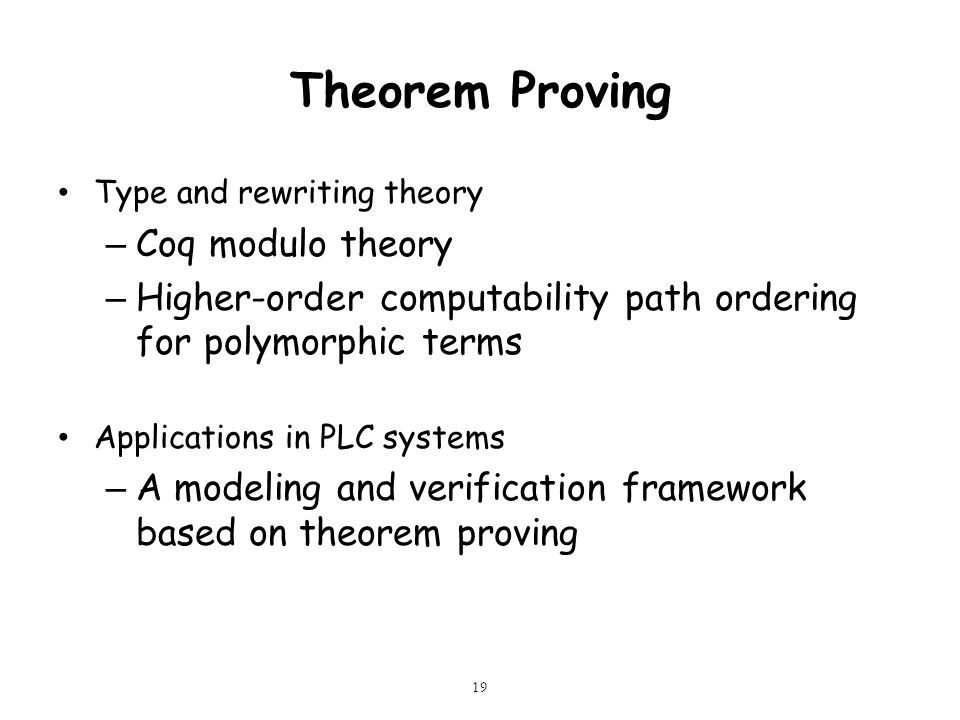 Theorem Proving Coq modulo theory