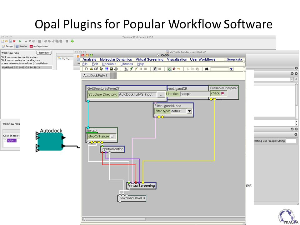 Opal Plugins for Popular Workflow Software