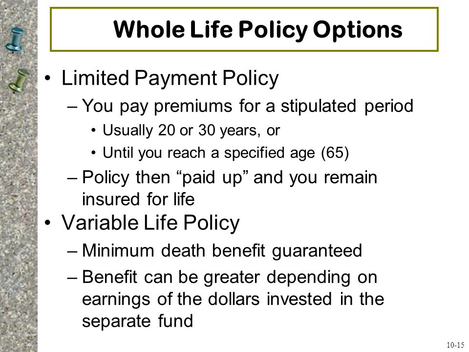 Universal Life Insurance (UL) - Financial Answer Center