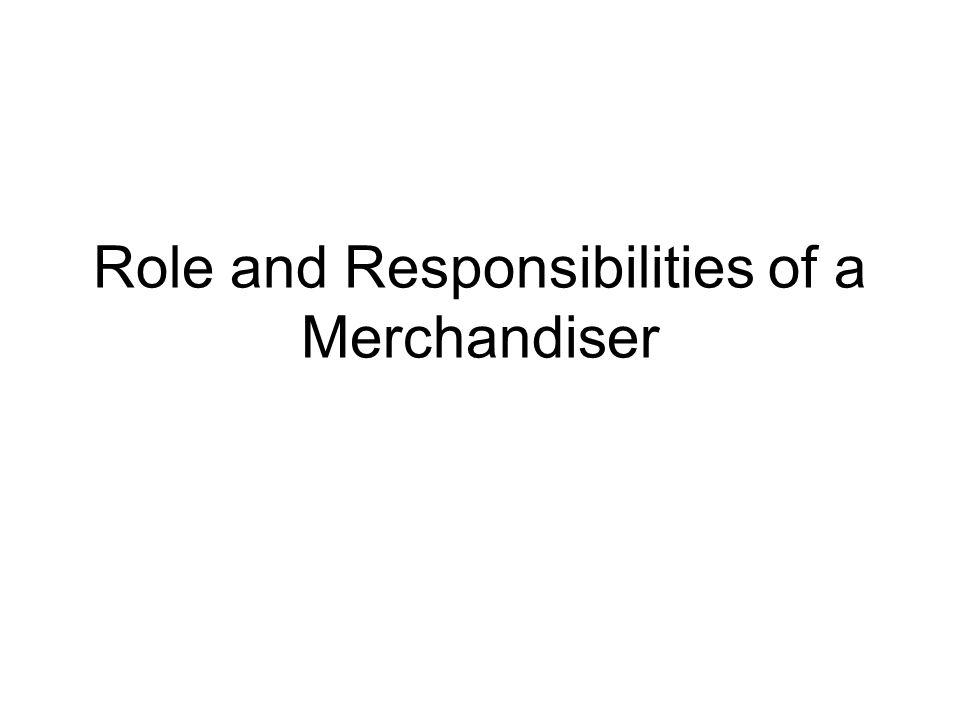 job description for merchandiser merchandiser job description - Job Description For Merchandiser