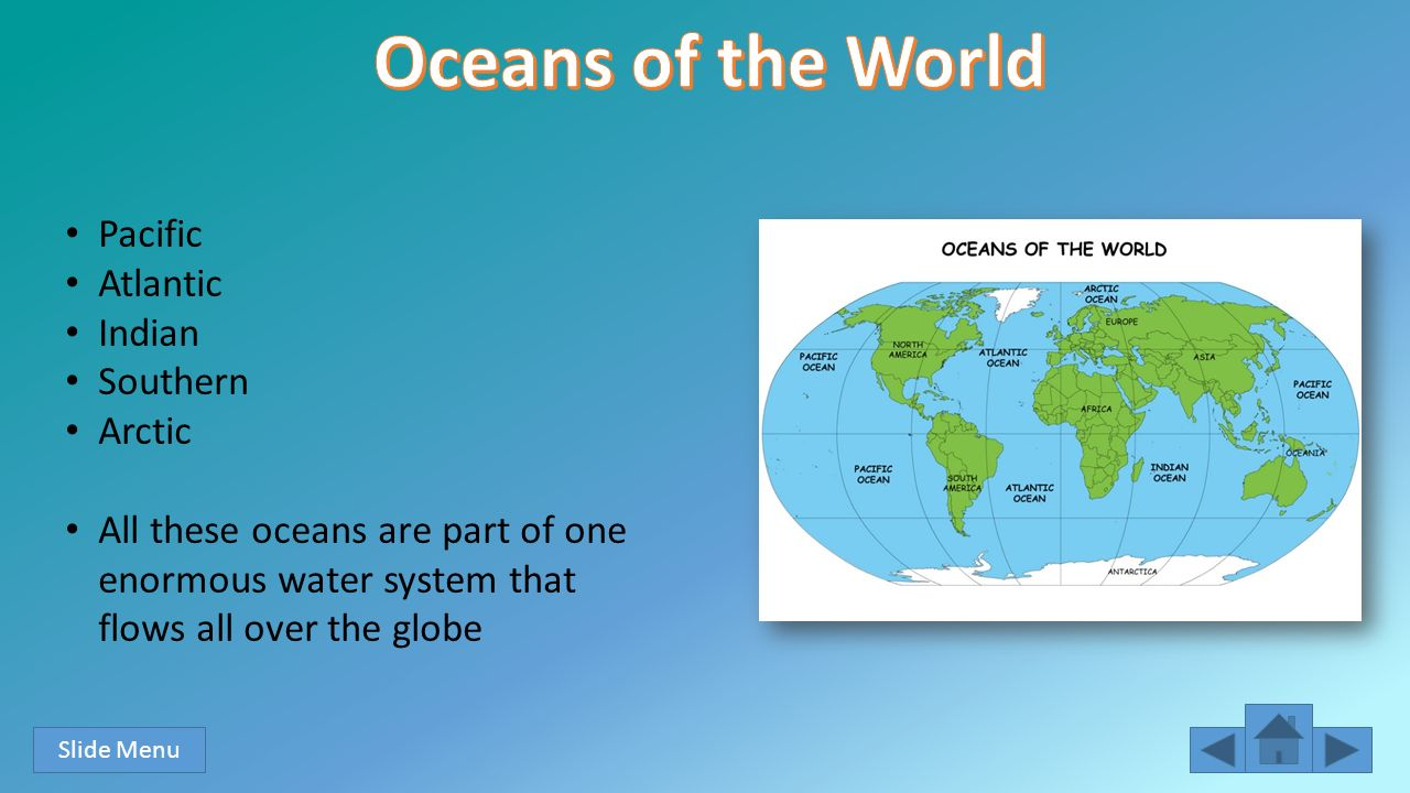 Into The Ocean Paige Tappert Section Rd Grade Objectives Ppt - All 5 oceans