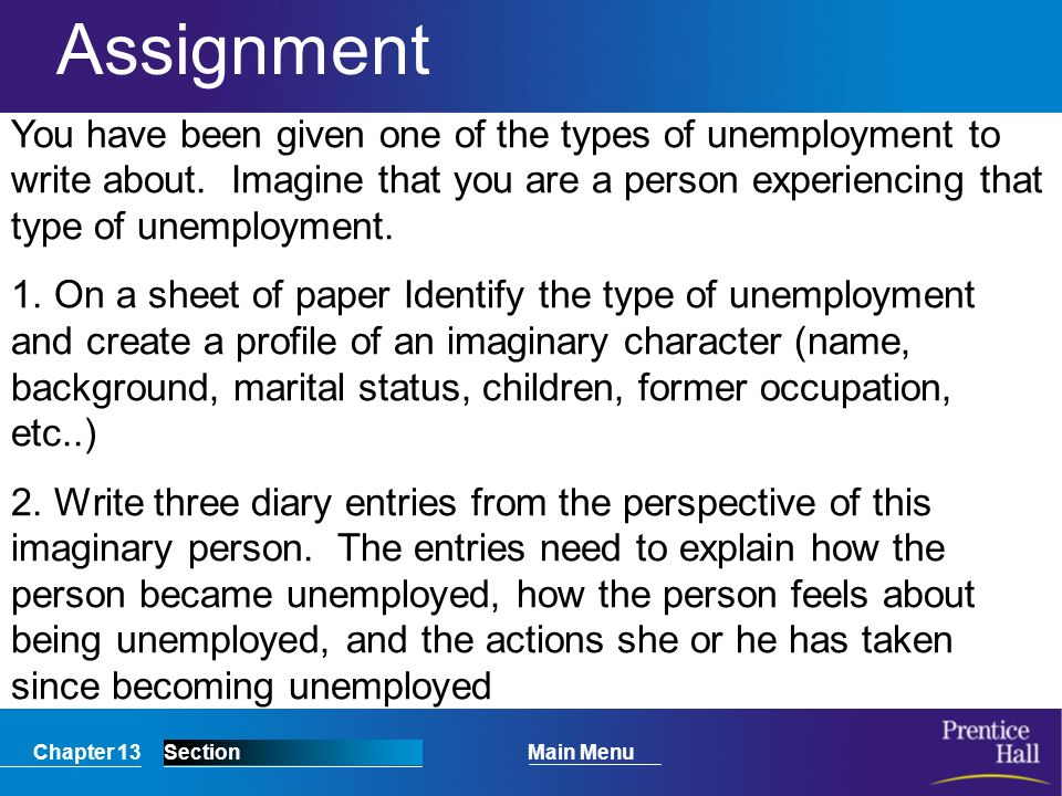 what is meant by unemployment and what are its different types essay
