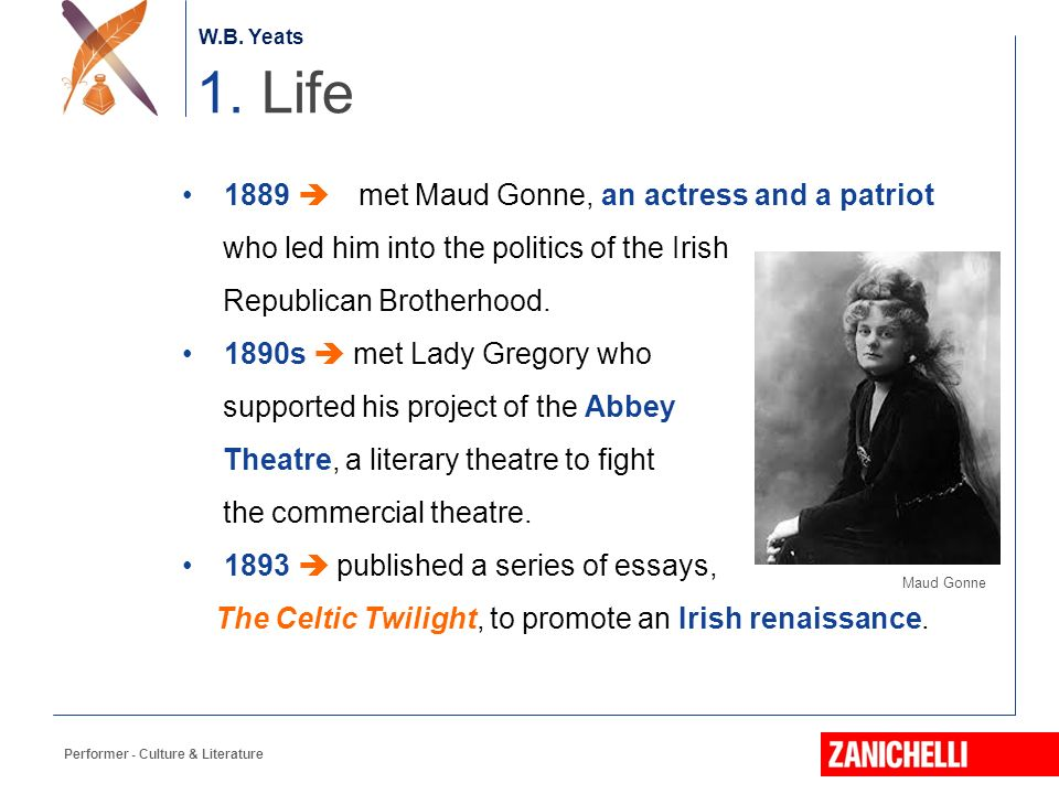william butler yeats ppt video online 3 1